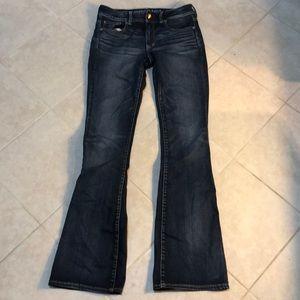 🍎American Eagle Kick Boot Jeans, 10 L